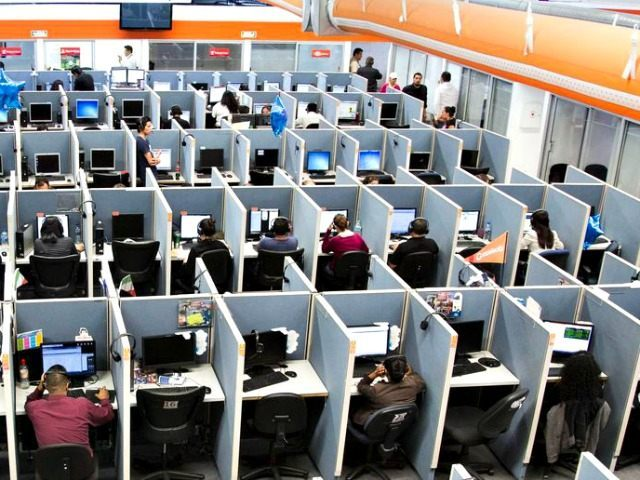 Office Workers Cubicles AP PhotoAlex Cossio