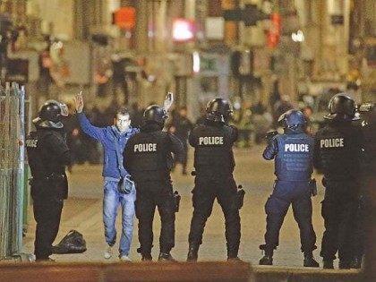 French counterterrorism raids