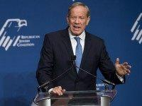 Presidential hopeful George Pataki, former Governor of New York, speaks during the 2016 Republican Jewish Coalition Presidential Candidates Forum in Washington, DC, December 3, 2015. AFP PHOTO / SAUL LOEB / AFP / SAUL LOEB (Photo credit should read