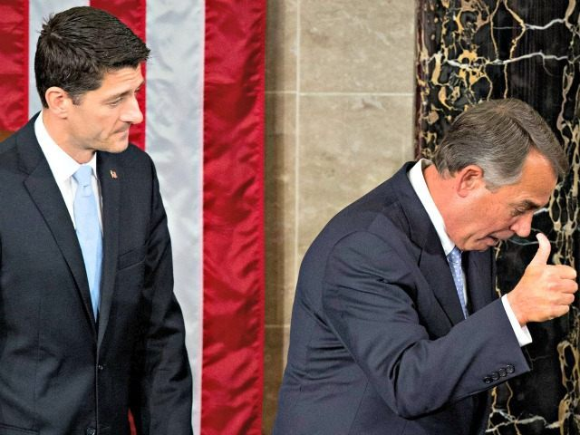 Paul Ryan John Boehner AP PhotoAndrew Harnik