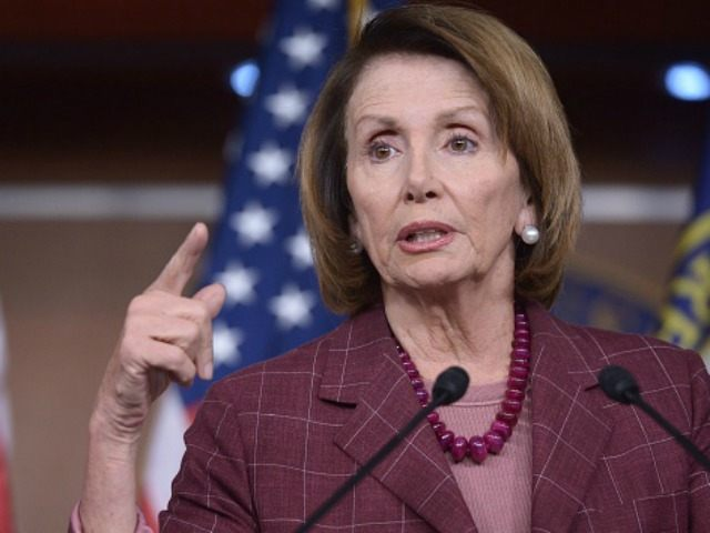 Nancy Pelosi, D-CA, speaks during a press conference in the US Capitol on November 5, 2015 in Washington, DC. AFP PHOTO/MANDEL NGAN (Photo credit should read