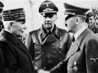 Petain and Hitler