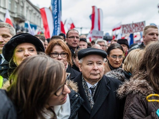 POLAND-CONSTITIUTION-DEMONSTRATION