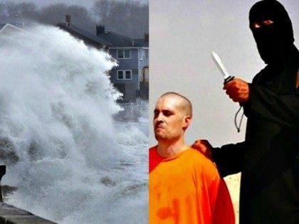 Rising ocean AP (L) ISIS beheading Reuters