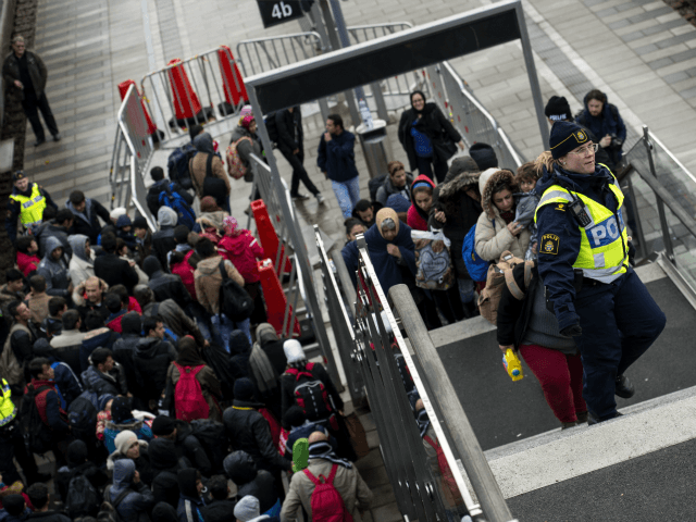 Sweden Migrants migrant crisis