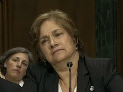 screen cap of Sarah Saldana testimony 12/2/15