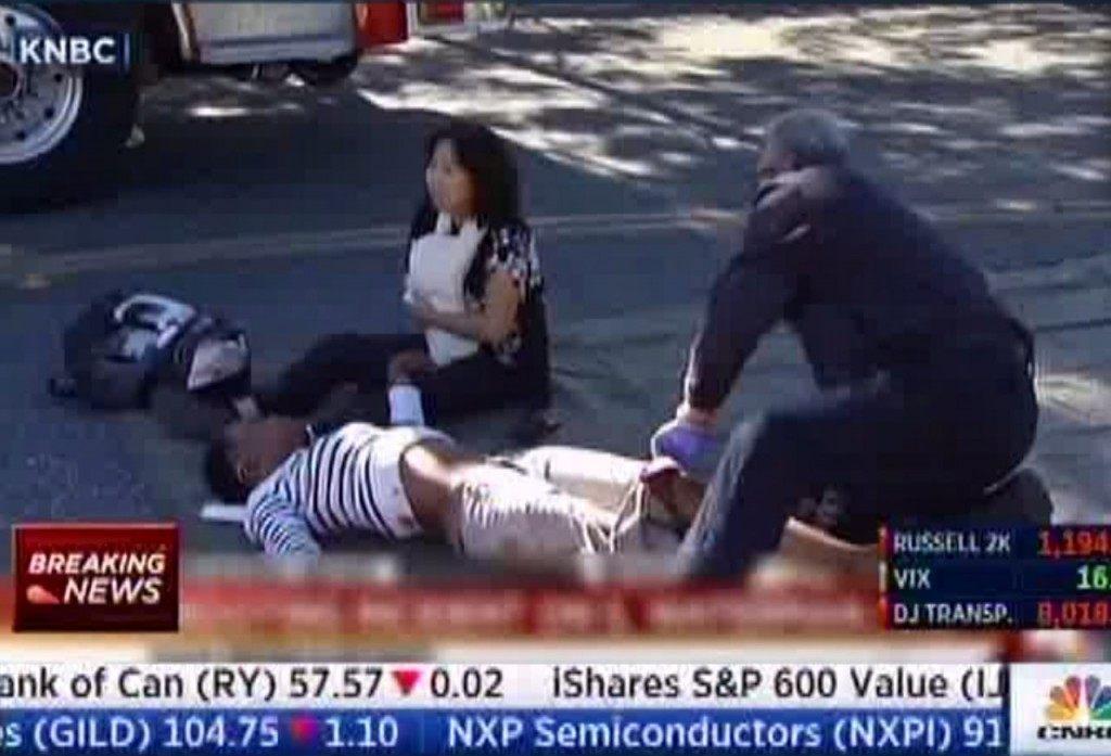 San Bernadino shooting (KNBC via Associated Press)