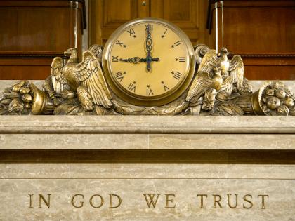 In God We Trust (Brendan Hoffman / Getty)