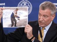 bill de blasio refugee Aylan Kurdi