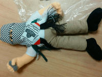 Jihadi dolls (Haifa customs via Times of Israel)