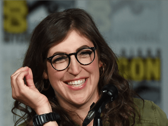 Actress Mayim Bialik