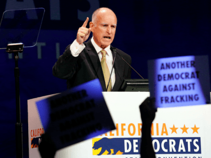 Jerry Brown fracking (Jae C. Hong / Associated Press)