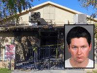 Mosque firebombing (David Martin / Associated Press / RCSD)