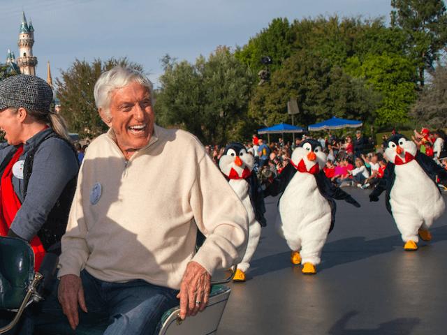 Dick van Dyke (Paul Hiffmeyer/Disney Parks via Getty)