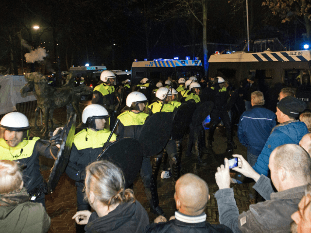 NETHERLANDS Asylum Migrant Demonstration