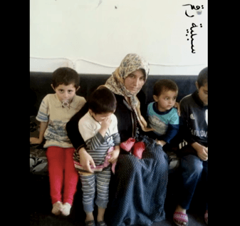The Yazidi negotiator worked to liberate this woman and her children.