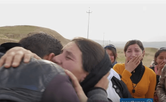 Yazidi Family Reunited
