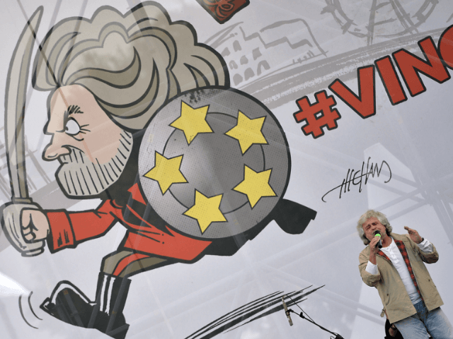 Italy 5-Star Movement (M5S) party leader Beppe Grillo,