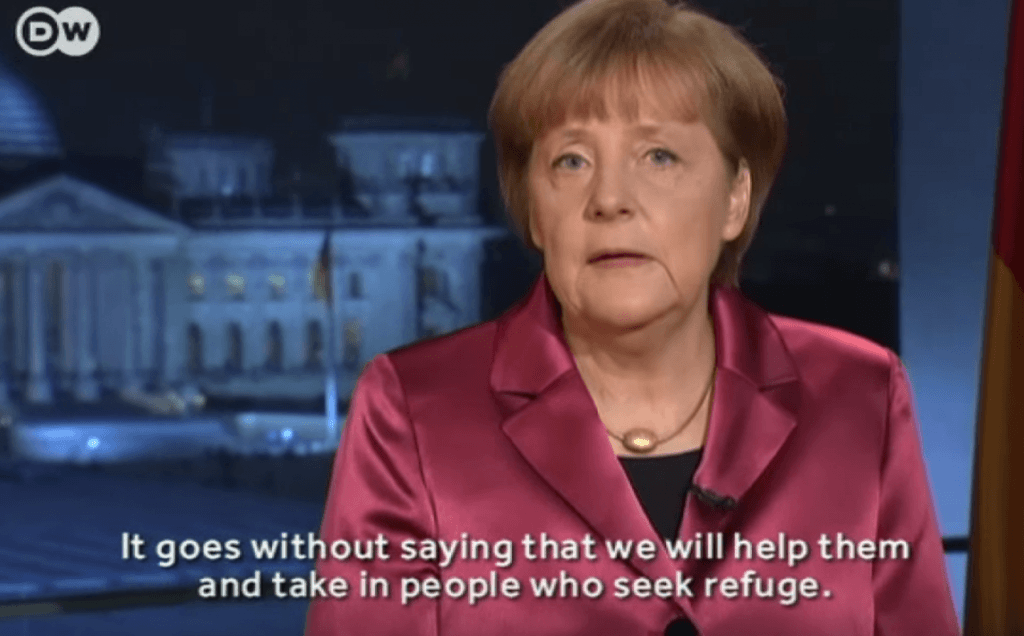 Merkel's January 2015 speech with English subtitles