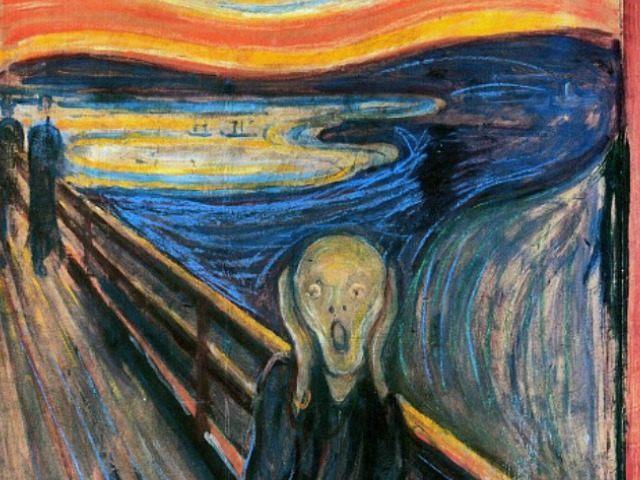 The Scream Public Domain