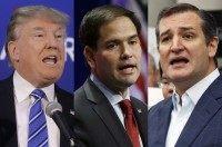 Trump, Rubio, Cruz AP