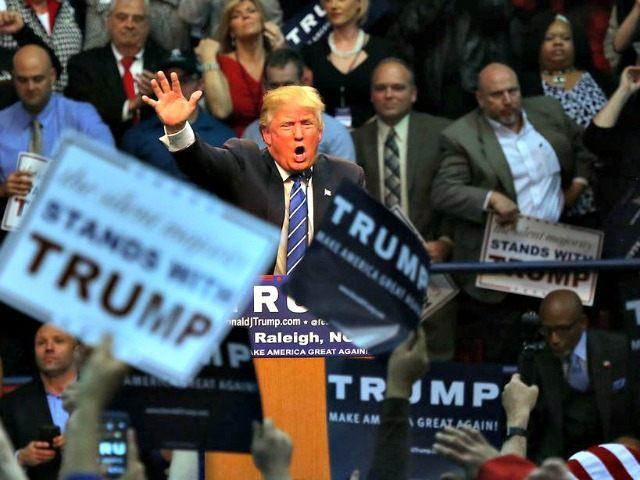 Trump in Raleigh, N.C. AP PhotoTed Richardson 640 480