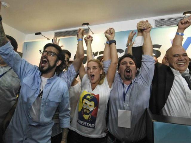 Venezuelan-opposition-after-election-AFP