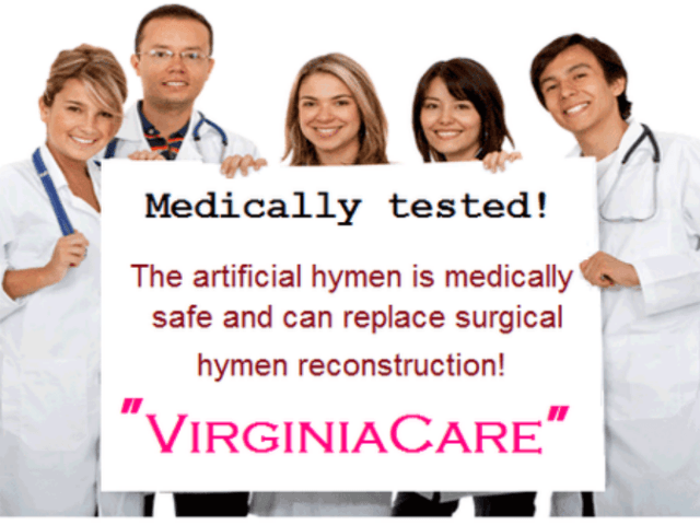 fake hymens