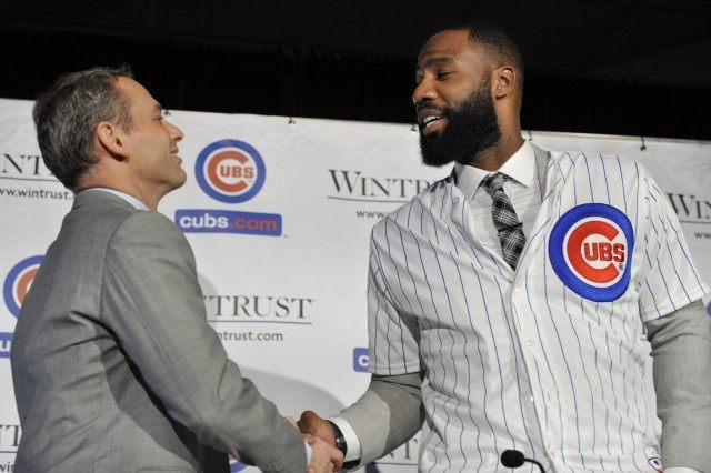 Jed Hoyer,  Jason Heyward