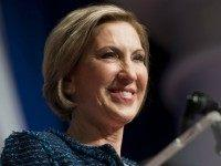 Republican Presidential hopeful Carly Fiorina speaks during the 2016 Republican Jewish Coalition Presidential Candidates Forum in Washington, DC, December 3, 2015. AFP PHOTO / SAUL LOEB