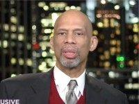 Former NBA star Kareem Abdul-Jabbar appeared on the Thursday broadcast …