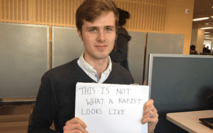 George doesn't look like a rapist
