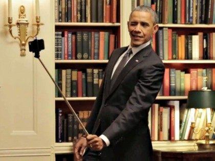 screen shot Obama selfie facebook