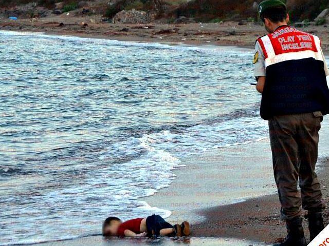 syrian drowend boy