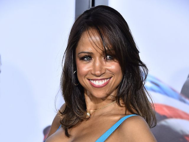 "NEW YORK, NY - DECEMBER 15: Stacey Dash arrives at the ""American Sniper"" New York Premiere at Frederick P. Rose Hall, Jazz at Lincoln Center on December 15, 2014 in New York City. (Photo by Theo Wargo/Getty Images)"