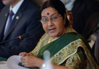 Indian External Affairs Minister Sushma Swaraj‏