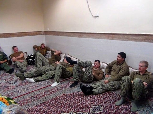 U.S. sailors captive in Iran (Sepahnews via Associated Press)