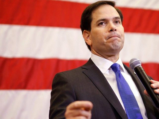 Republican presidential candidate, Sen. Marco Rubio, R-Fla. speaks at a town hall in Cedar Rapids, Iowa, Tuesday, Jan. 5, 2016. (