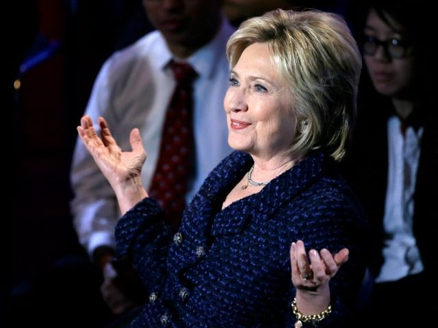 Democratic presidential candidate, Hillary Clinton makes a point during the Brown & Black Forum, Monday, Jan. 11, 2016, in Des Moines, Iowa. (