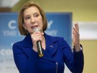 Republican presidential candidate, businesswoman Carly Fiorina speaks during a town hall-style campaign stop at the Ray-Free Senior Center, Saturday, Jan. 16, 2016, in Raymond, N.H. (