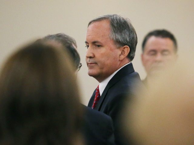 APTOPIX Texas Attorney General Indicted
