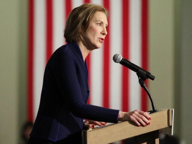 Republican presidential candidate Carly Fiorina speaks at the New Hampshire Forum on Addiction and the Heroin Epidemic at Southern New Hampshire University, Tuesday, Jan. 5, 2016, in Manchester, N.H. (