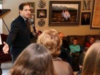 Republican presidential candidate, Sen. Marco Rubio, R-Fla. speaks during a house party, Thursday, Jan. 7, 2016, in Bedford,NH (