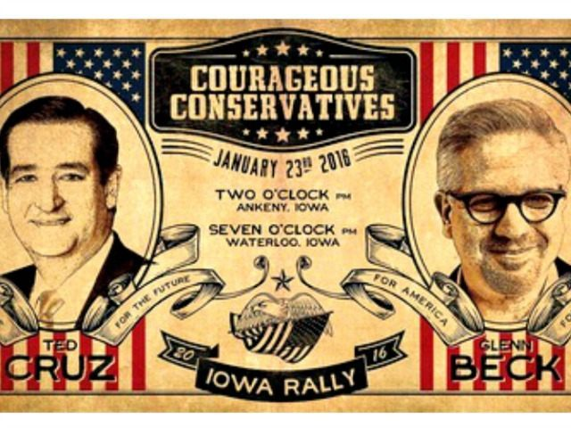 Beck Cruz Iowa Rally