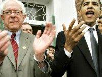 Bernie Sanders and Barack Obama APToby Talbot