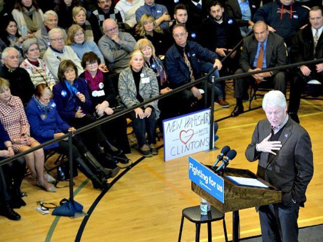 Bill Clinton New Hampshire Darren McCollester Getty