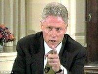 Bill Clinton Points Reuters