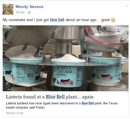 Blue Bell Reaction #4
