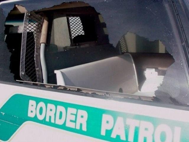 Border Patrol Rock Attack