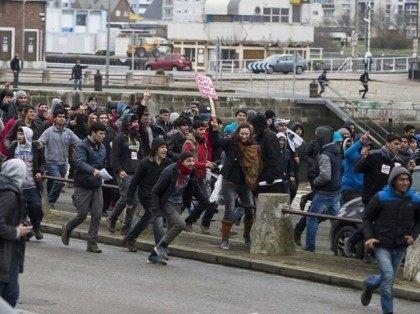 Calais Libre riot 1